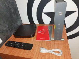 TV BOX + ROUTER WIFI VODAFONE