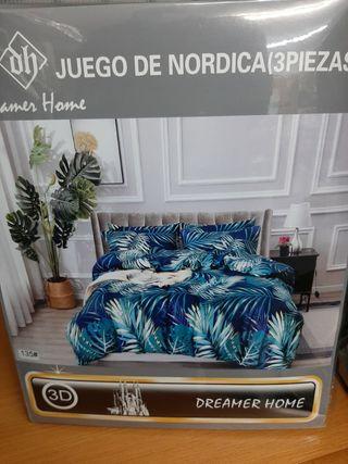 juego de sábanas nordica 135