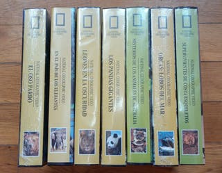 National Geographic Video 7 cintas nuevas