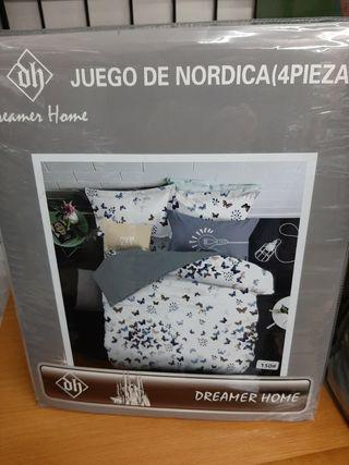 juego de sábanas nordica 150