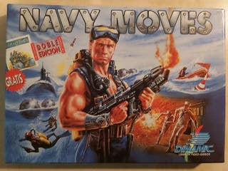 Navy Moves + Army Moves Amstrad Cinta