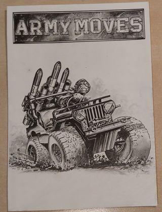 Navy Moves + Army Moves Amstrad Cinta