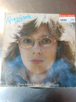 Rosa León, Se Está Buscando en el Espejo, Vinilo