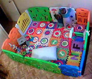 PARQUE INFANTIL BABYVIVO XXL (8+6 piezas. 8m aprx)