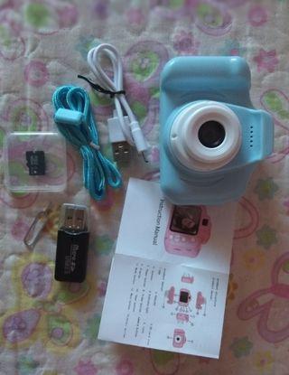 mini cámara de fotos+ 32GB