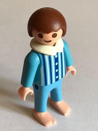 Playmobil niño del cuarto de baño victoriano