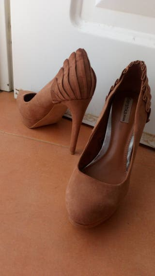 Zapatos de tacon alto y plataforma