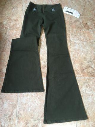 Pantalon De Campana De Segunda Mano Por 16 En Colloto En Wallapop