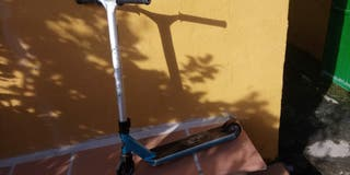 Scooter azul Oxelo