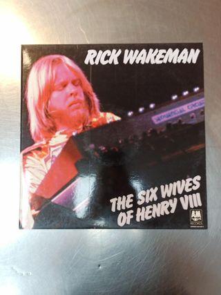 Rick Wakeman, The Six Wives..., Vinilo