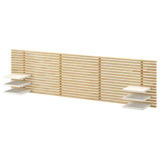 Cabecero de madera mandal de Ikea 61cm X 250cm