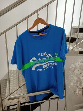 Camiseta hombre marca 'Superdry'
