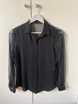 Blusa plumeti negra