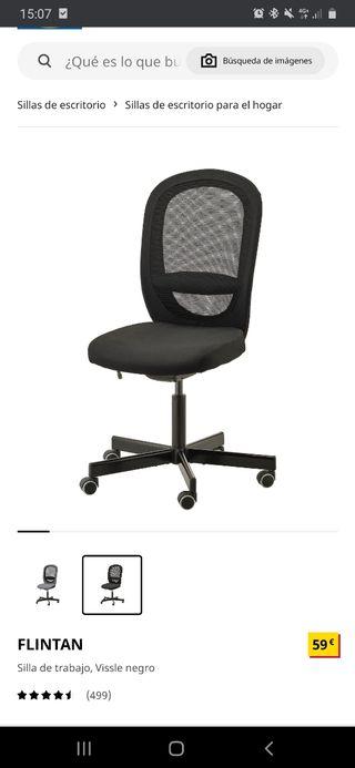 Silla escritorio oficina ikea