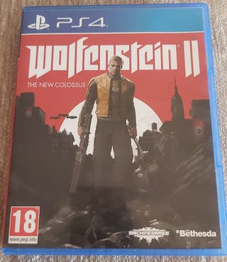 juego wolfenstein 2. ps4