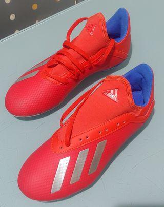 Botas de futbol Adidas X 18.3 FG JR