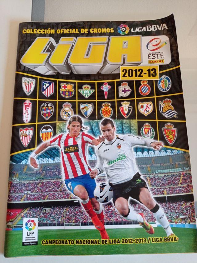 liga 2012 2013 album de cromos
