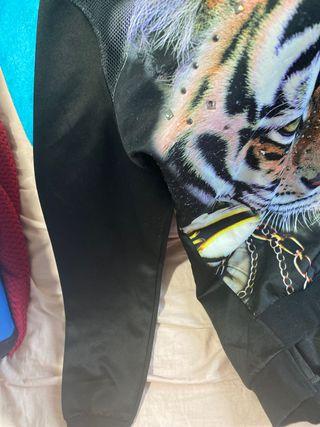Sudadera tigre jersey