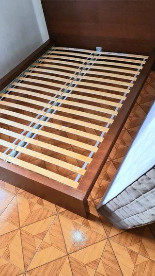 Cama completa con colchón 140x200