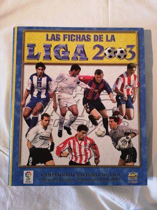Álbum la liga 2003