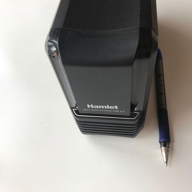 Caja externa RAID 2 Discos X 500GB (1TB) USB 3.1