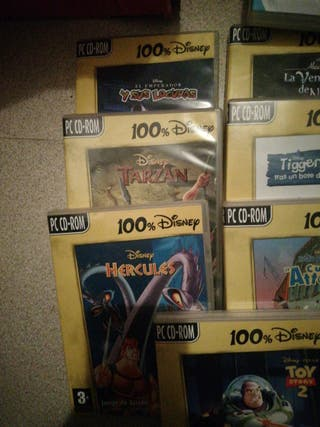 juegos PC CD _ROM Disney