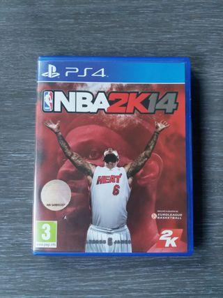 Vendo NBA 2K14 para PS4.