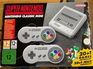 Nintendo Classic Mini SÚPER NINTENDO