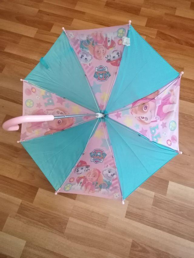 Paraguas infantil PATRULLA CANINA 70 cm diametro