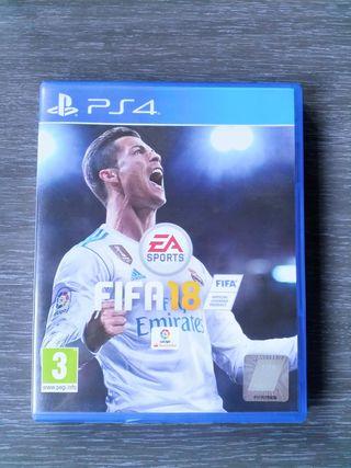 Vendo FIFA 18 para PS4 - Playstation 4.