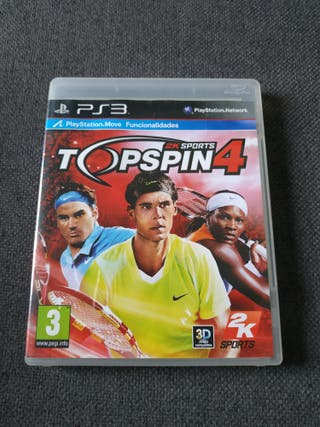 top Spin 4 2k PS3
