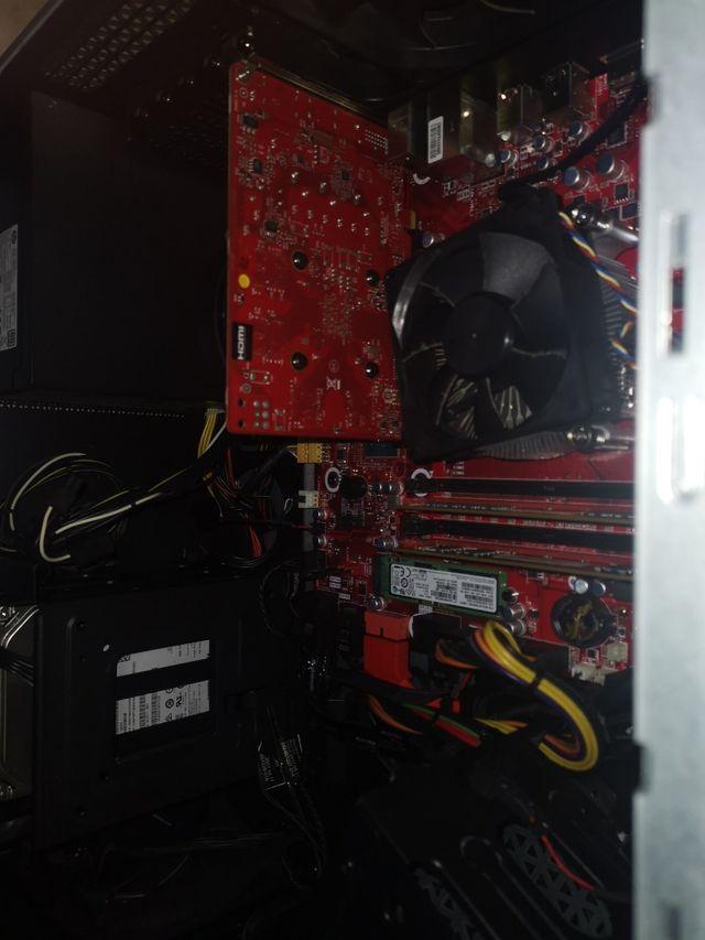 HPOmen880-037ns i5-7400/12GB/1TB/128SSD/GTX105 2GB
