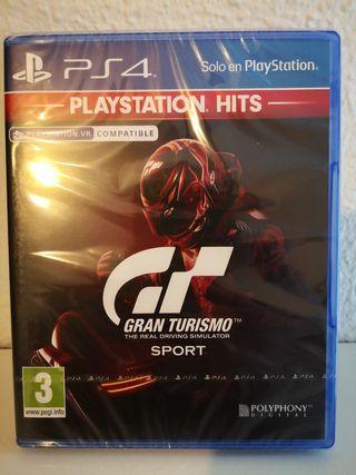 Ps4 Gran Turismo Sport Precintado a estrenar.