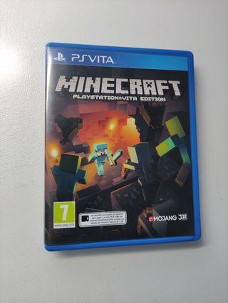 Minecraft PlayStation vita edition PSVita PS vita