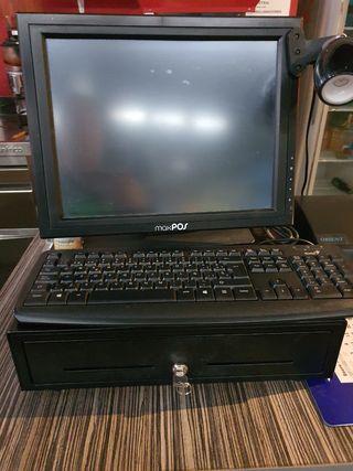 caja registradora computador