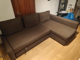 Sofá FRIHETEN. Sofá, chaiselongue y cama doble