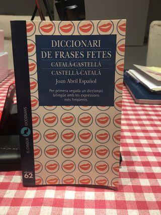 Diccionari de feases fetes.català-castellà