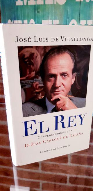 Libro de José Luis de Villalonga El Rey,