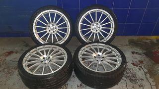 """Llantas de 20"""" con neumáticos """"Dunlop"""""""