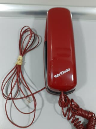 Teléfono fijo Mx onda rojo