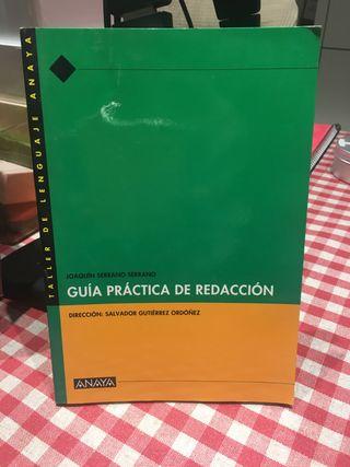 Libro Guia práctica de redacción