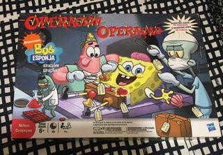 Juego Operación Bob Esponja