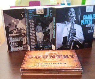 30 CDs Jazz y uno Country de regalo