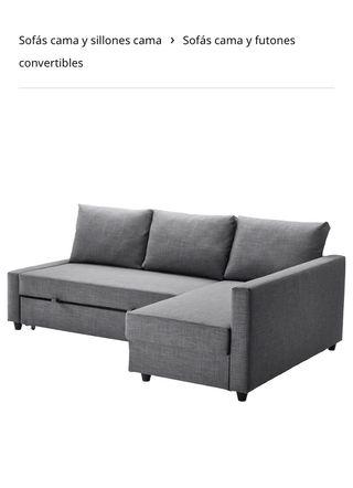 Sofa cama friheten nuevo sin estrenar