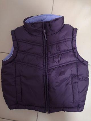 Chaleco abrigo talla 3-4