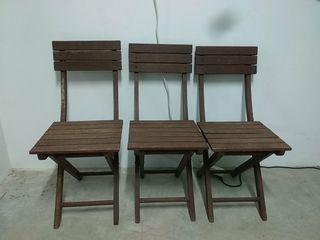 Juego de sillas de jardín
