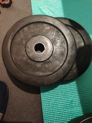 discos para mancuernas-28 mm