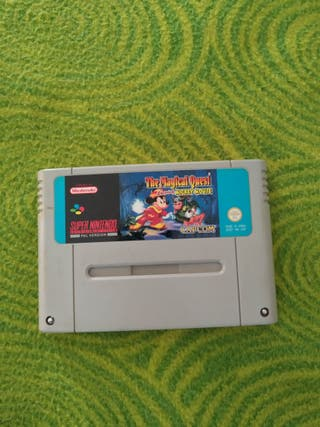 Mickey Mouse the Magical quest Super Nintendo