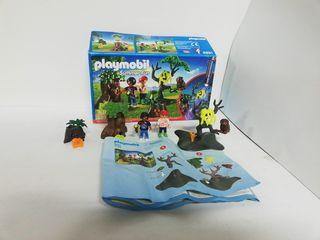Playmobil 6891 hallowen niños en el bosque