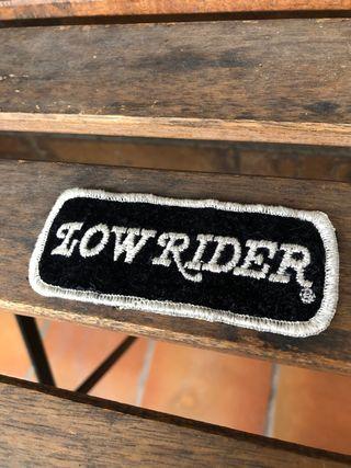Parche Low Rider Harley Davidson Vintage